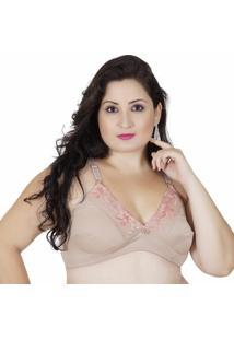 Sutiã Plus Size Click Chique Firmador - Feminino