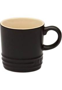 Caneca Le Creuset Cerâmica Black Onyx 350Ml - 3031721