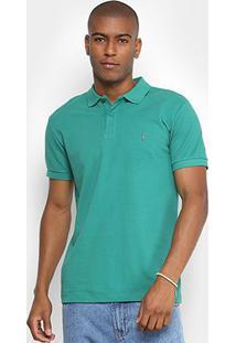 Camisa Polo Coca-Cola Masculina - Masculino-Verde