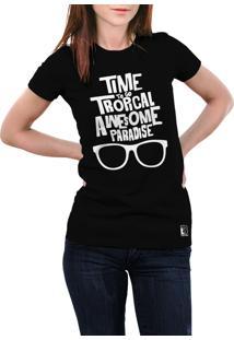 Camiseta Hunter Paradise Preta