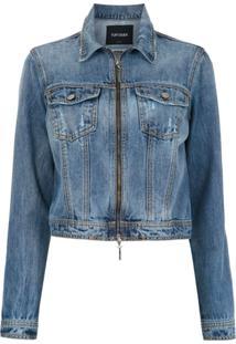Tufi Duek Jaqueta Jeans Com Botões - Azul