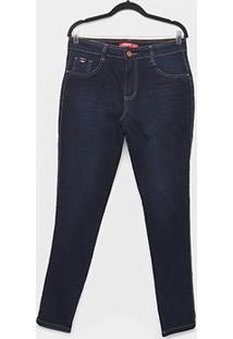Calça Jeans Biotipo Plus Size Skinny Cintura Alta Feminina - Feminino