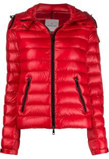 Moncler Padded Zip-Up Jacket - Vermelho