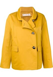 Marni Blazer Transpassado - Amarelo