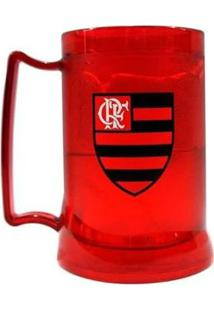 Caneca Gel Flamengo Escudo Crf 400 Ml - Unissex