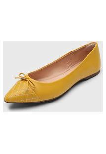 Sapatilha Dumond Conforto Amarela