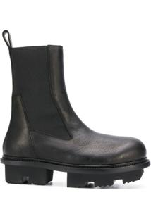 Rick Owens Ankle Boot Bozo Megatooth - Preto