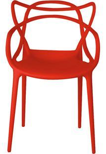 Cadeira Allegra Vermelha - Rivatti