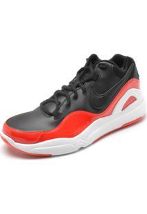 Tênis Nike Sportswear Dilatta Premium Preto/Laranja