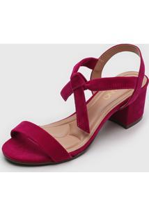 Sandália Via Uno Amarração Pink