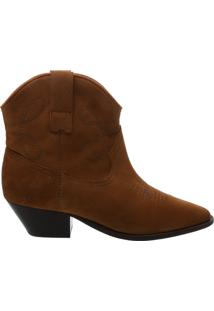Bota New Western Suede Brown | Schutz