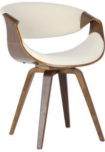 Cadeira Nicole Linho Bege
