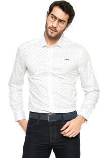 Camisa Colcci Estampada Branca