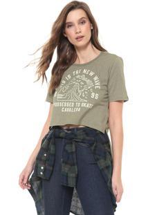 Camiseta Cavalera Mullet New Wave Verde