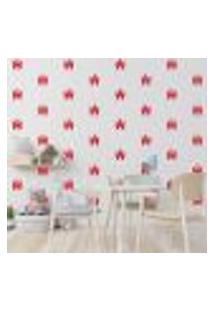 Adesivo Decorativo De Parede - Kit Com 30 Castelo - 049Kaa18