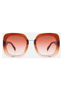 Óculos De Sol Feminino Quadrado | Accessories | Marrom | U