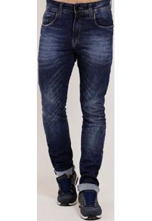 Calça Jeans Slim Masculina Cook'S Azul