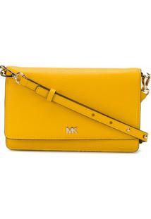 Michael Michael Kors Bolsa Envelope Transversal - Amarelo