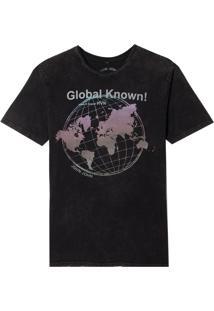 Camiseta John John Rg Global Known Malha Cinza Masculina (Cinza Chumbo, Pp)