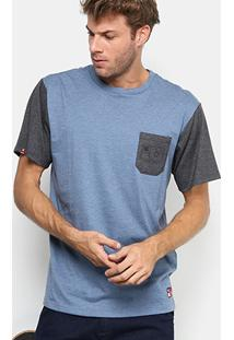 Camiseta Dc Shoes Esp Core Pocket Tall Fit Masculina - Masculino