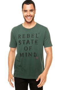 Camiseta Vila Romana Estampada Verde