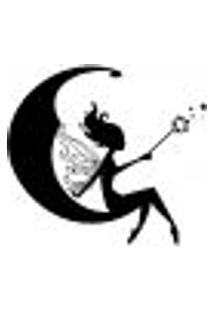 Adesivo De Parede - Fada, Lua E Estrelas - 022In-M