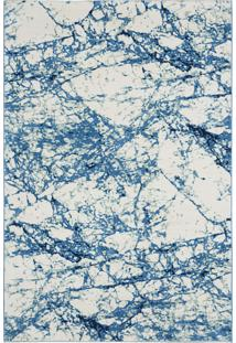 Tapete Soft Splash Mix Blue 11Mm Peca Unica - 234 X 157 Cm