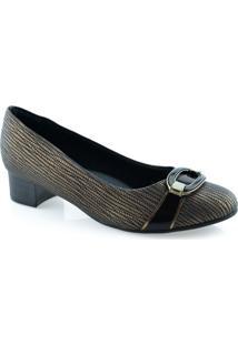 Sapato Com Pedra Piccadilly - 140101