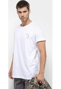 Camiseta Forum Song Masculina - Masculino-Branco