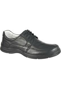 Sapato Confort Plus Em Couro Bmbrasil Casual 2712 - Masculino
