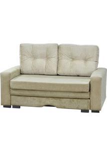 Sofa Cama Marte Reclinavel Bege