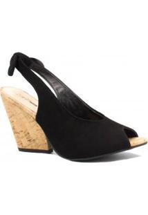 Sandália Zariff Shoes Anabela Laço