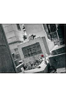 Jogo Americano Decorativo, Criativo E Descolado | Túmulo Do Jim Morrison Em Paris, Na França - Tamanho 30 X 40 Cm