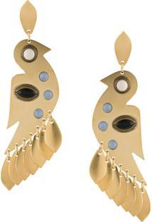 Isabel Marant Birdy Earrings - Dourado