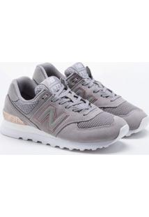Tênis New Balance 574 Cinza Feminino 39
