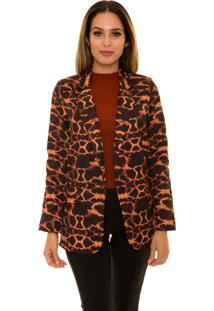 Blazer Beautifull Hit Animal Print