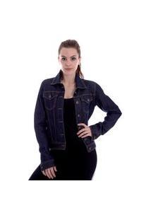 Jaqueta Jeans Operarock Dark Blue
