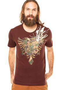 Camiseta Cavalera Águia Marrom