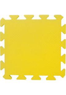 Tapete Tatame Eva Loja Da Maria 50X50X1Cm 10Mm Amarelo
