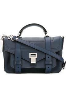 Proenza Schouler Bolsa Tiny 'Ps1+' - Azul
