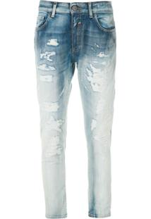 John John Calça Jeans Skinny Boy Cenina 3D - Azul