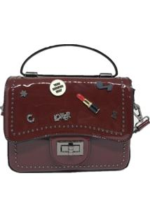 Mini Bolsa Casual Importada Sys Fashion 8309 Vinho