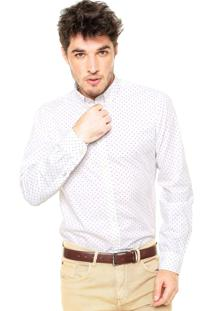 Camisa Tommy Hilfiger New York Fit Azul