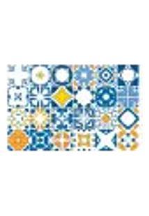 Adesivo De Azulejo - Ladrilho Hidráulico - 015Az-G
