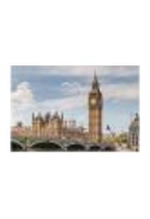 Painel Adesivo De Parede - Big Ben - Londres - 811Pnp