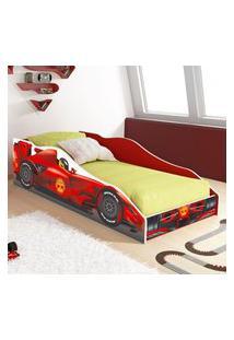Mini Cama Carro F1 Rpm - Fórmula F1 - Vermelho - Lojas Rpm