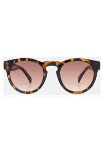 Óculos De Sol Feminino Modelo Redondo | Accessories | Preto | U