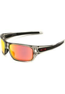 Óculos De Sol Oakley Turbine Cinza/Laranja