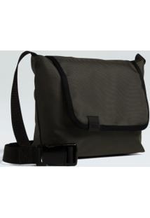 Bolsa Small Flap Nylon-Militar/Preto - Un