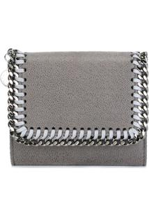 Stella Mccartney Carteira Modelo 'Falabella' Mini - Cinza